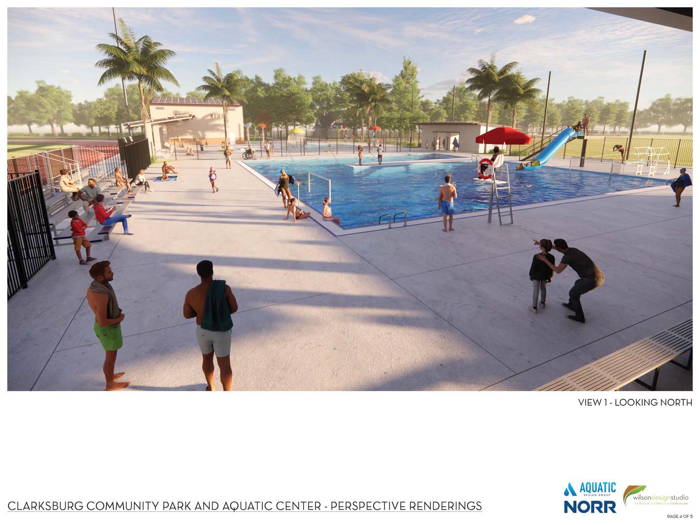 Clarksburg Community Park & Aquatic Cent