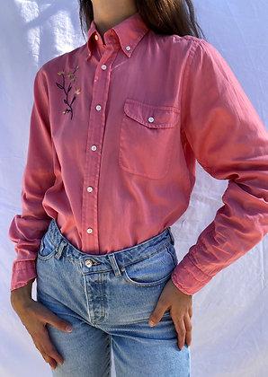 Vintage shirt 'Fleur'