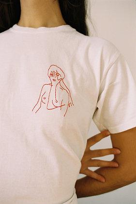 T-shirt 'Ombre'