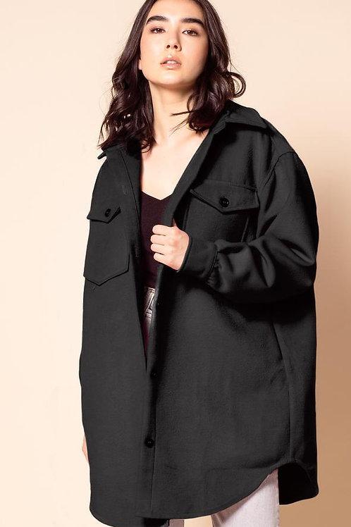 Charley Coat-Black