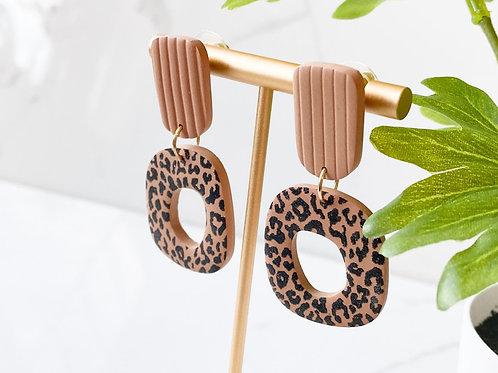 Leopard Terracotta Dangler