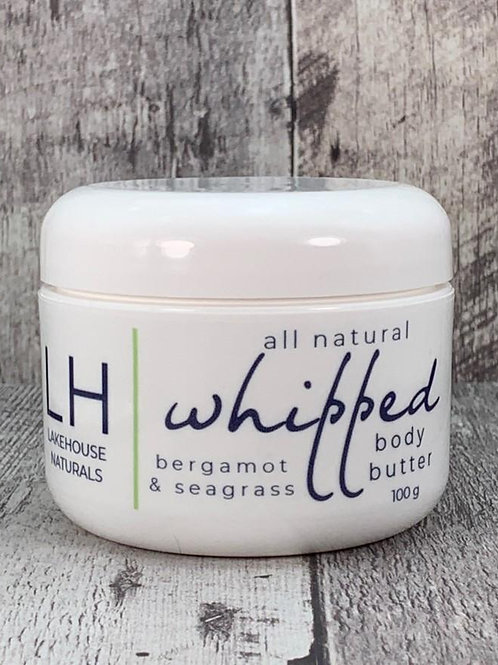 Whipped Body Butter Bergamot and Seagrass