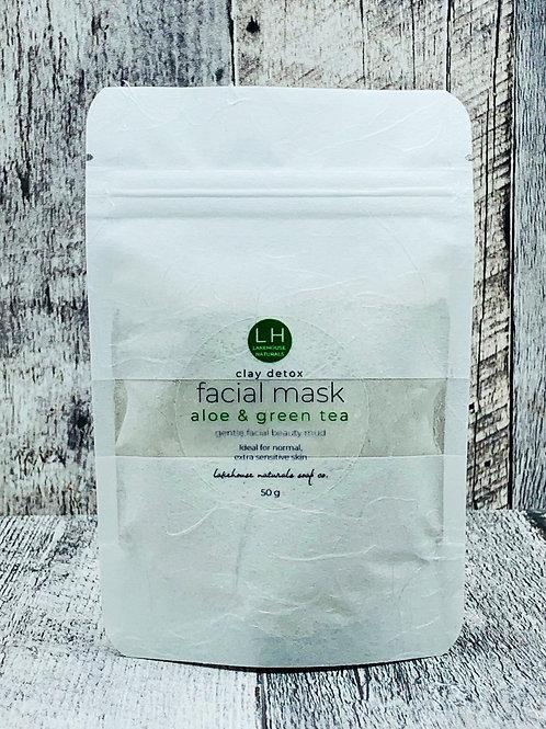 Facial Mud Aloe & Green Tea