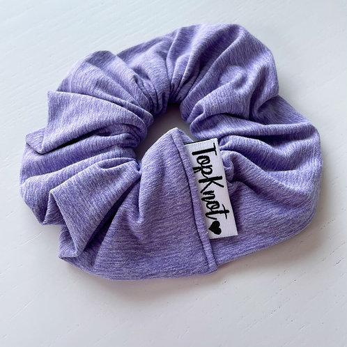 The Heather Lilac Scrunchie