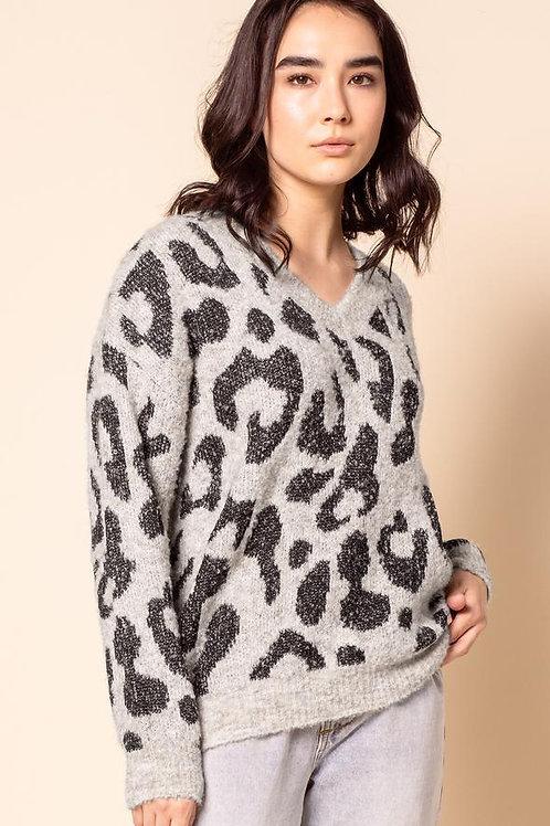 The Liza Sweater-Grey