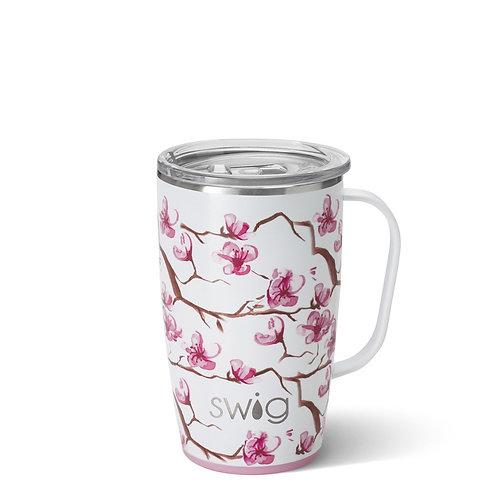 Cherry Blossom Travel Mug (18 oz)