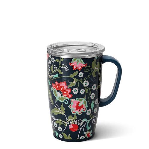 Lotus Blossom Travel Mug (18oz)