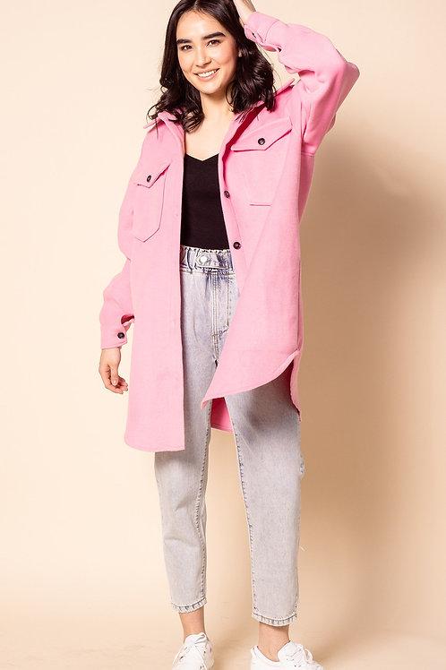 Charley Coat-Pink