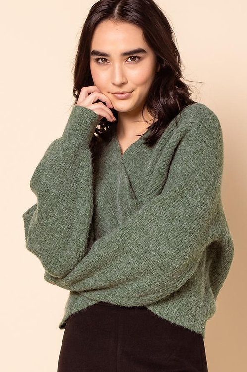 The Chrissy Sweater-Green