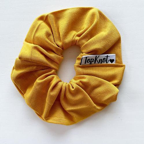 The Mustard Yellow Scrunchie