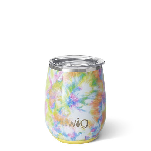 You Glow Girl Holographic Stemless Wine Cup (14oz)