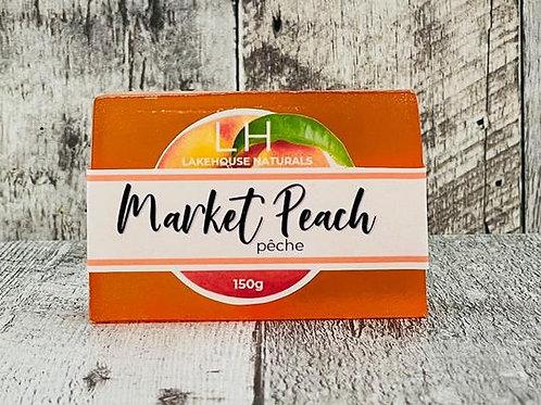 Market Peach Soap