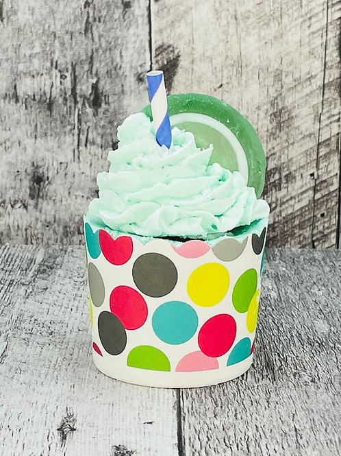 Margarita 2 in 1 Cupcake Bath Bomb with Whipped Soap Icing