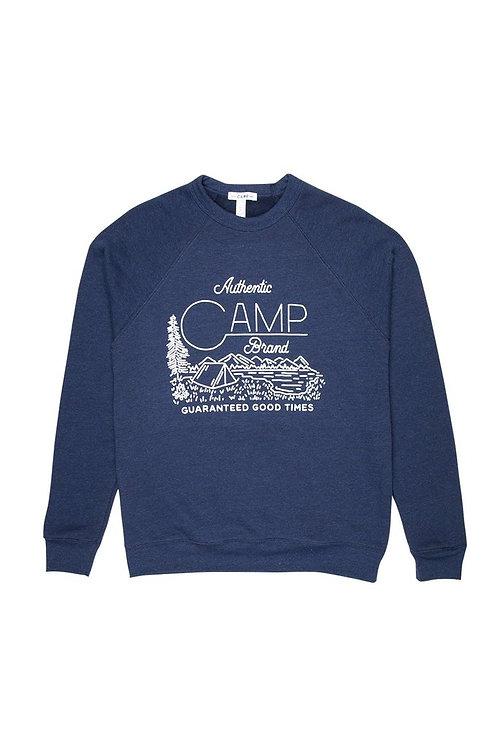 Gone Campin' Sweatshirt Tri Navy