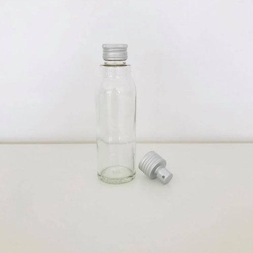 Leerflasche Glas 100ml + Pumpsprüher