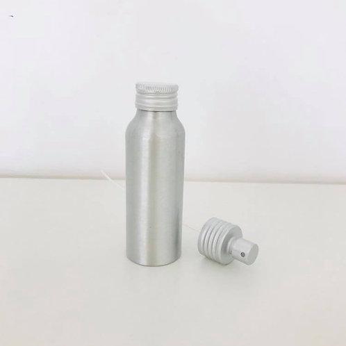 Leerflasche Aluminium 80ml + Pumpsprüher
