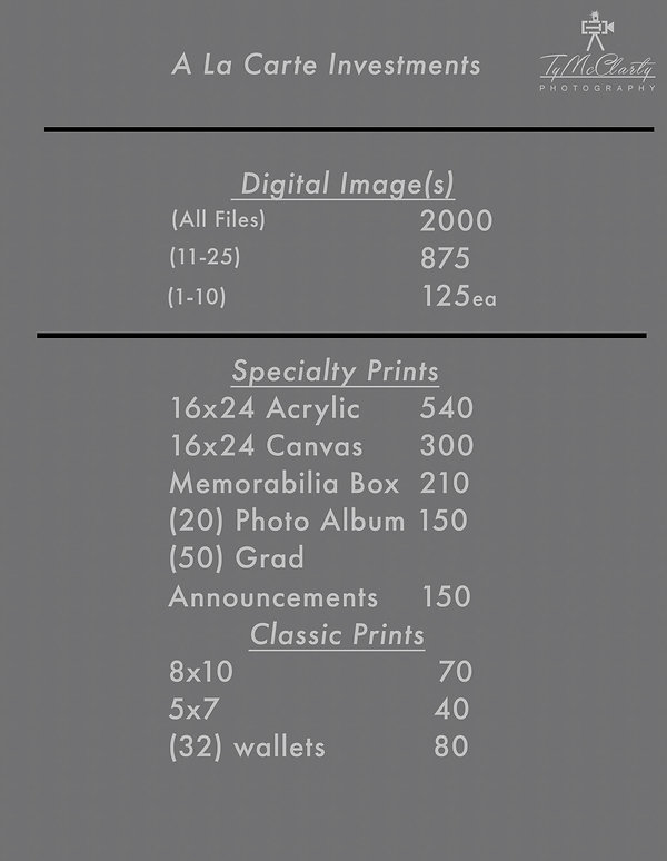 a la carte price sheet.jpg