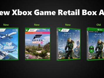 Microsoft revamps Xbox One and Xbox Series X|S box art design