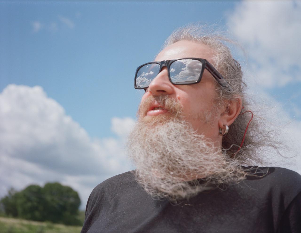 Raimonds Lagimovs pirmā filmēšanas diena. Foto Aija Bley.