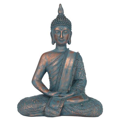 Blue Sitting Buddha