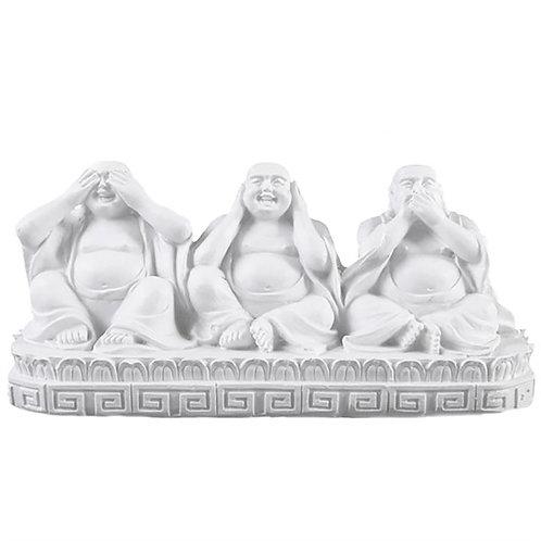 See, Speak, Hear No Evil Buddha