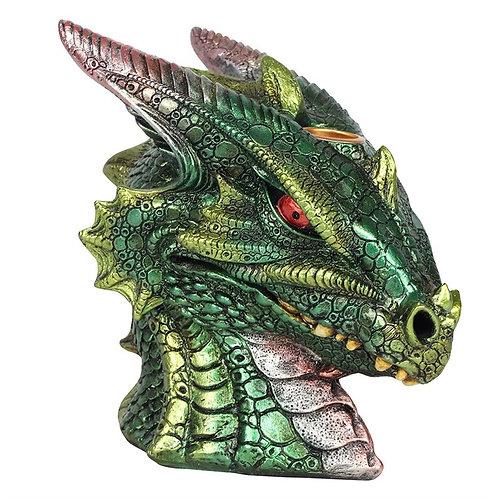 Large Green Dragon Head