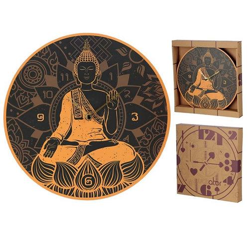 Thai Buddha Picture Clock