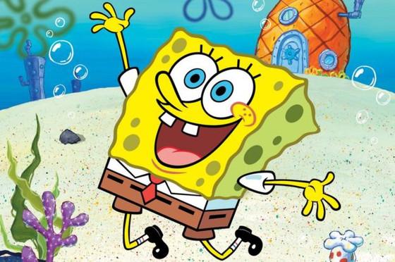Spongebob Jumping Off the High Dive