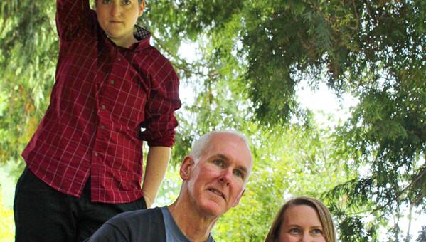 Jasmine Joshua, Tom Fraser, and Tami Kowal