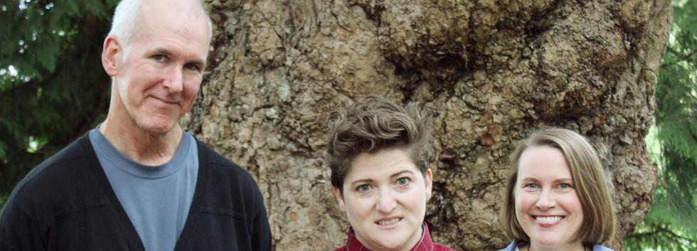 Tom Fraser, Jasmine Joshua, and Tami Kowal