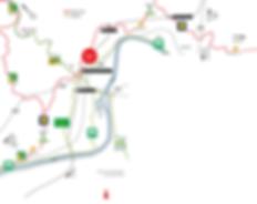 Lageplan und Anfahrt Ehrang/Quint