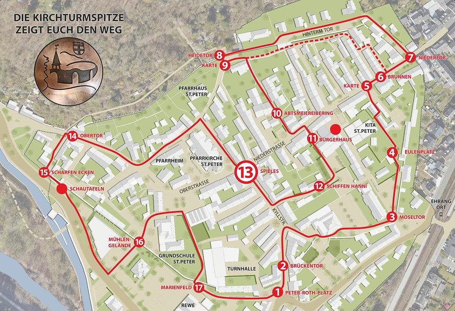 Historischer Stadtmauerrundgang Spieles Trier Ehrang