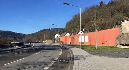 Straße Mühlengelände Ehrang