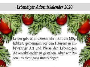 Lebendiger Adventskalender 2020