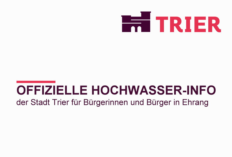 Luftaufnahme Hochwasser 2021 Trier Ehrang