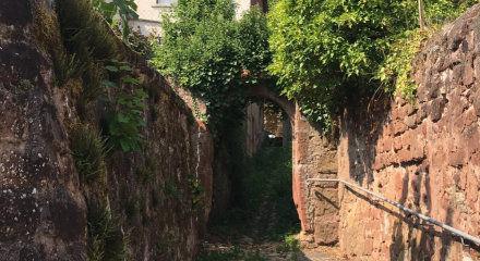 Gässchen im historischen Ortskern