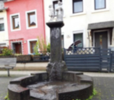 Brunnen am Peter-Roth-Platz Ehrang