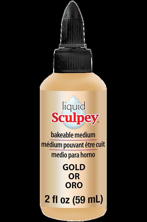 Liquid Sculpey Gold, 2 fl oz  (59 ml)