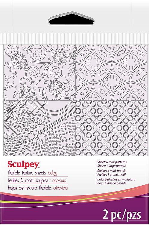 Sculpey Texture Sheet - Edgy
