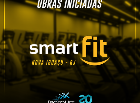 Procomet Inicia Obra Na Smart Fit Nova Iguaçu.
