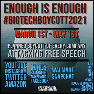 Big tech boycott