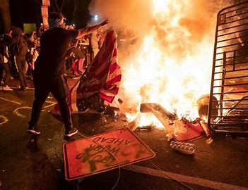 In response to the 2020 riots conducted by Antifa/BLM in American Cities.