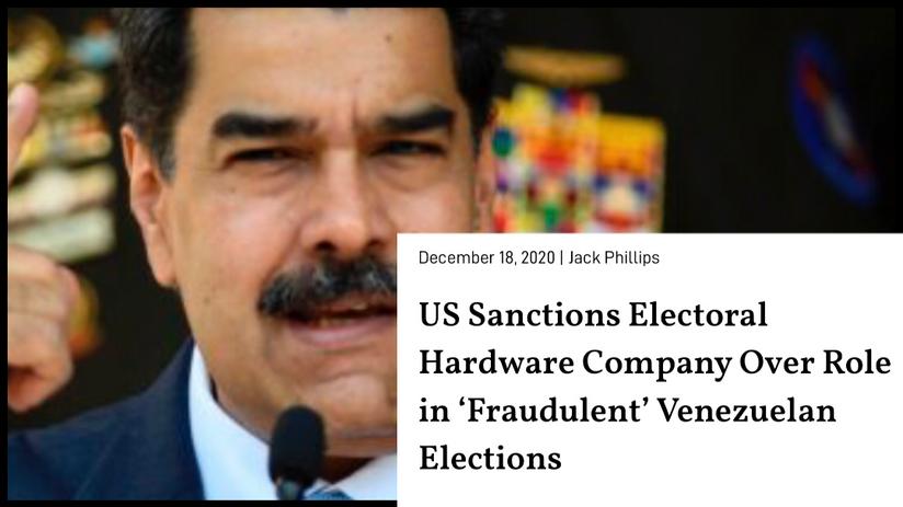 Us sanction