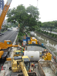 Proposed Sewers in Jurong East and Juron
