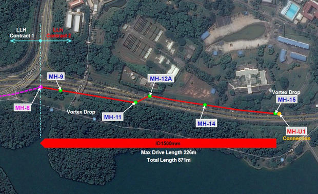 Proposed Sewers in Lorong Lada Hitam Are