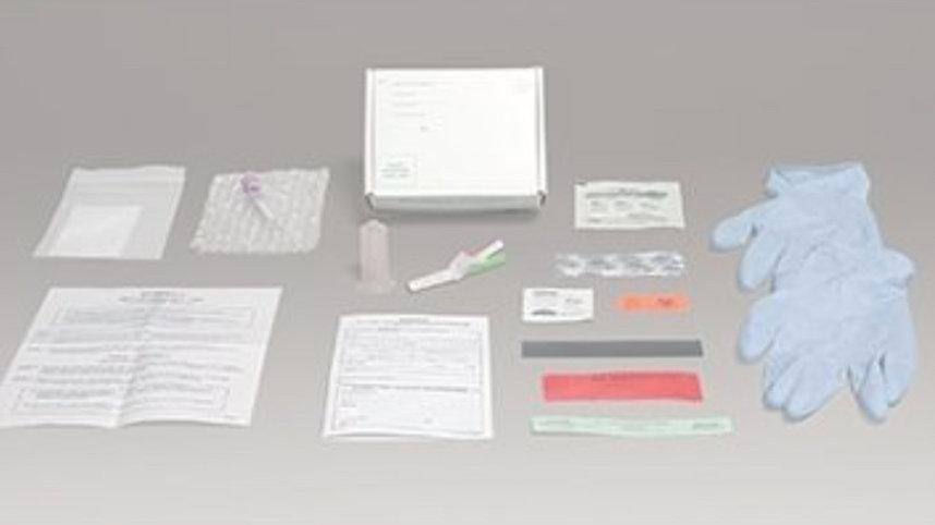 10 specimen collection kits