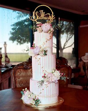 Sugar Dreams Wedding cake