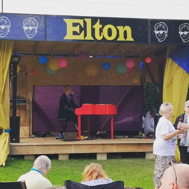 Bramley got its very own Elton John for