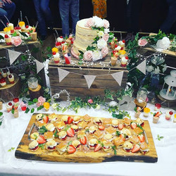 Rustic dessert table😍😍😍 #soireeeventz
