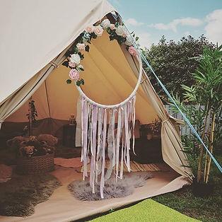 chillout tent, hen parties, kids parties